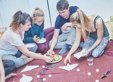 Yoga Supper Club in Haggerston