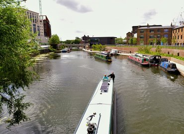 Photo Tour + Tuition: Boat Trip + Kings Cross