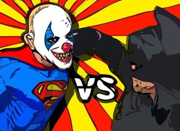Free comedy in Hammersmith - Heroes vs Villains