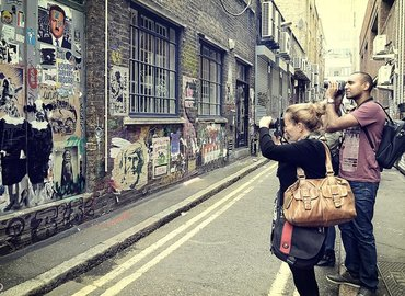 Magical Street Art Photo Guided Walk with Tuition