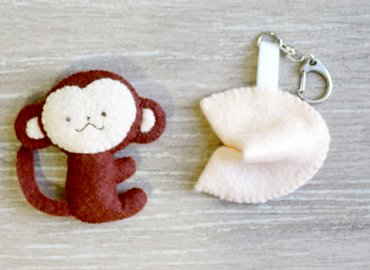 CNY Felted Keychain/Brooch Workshop
