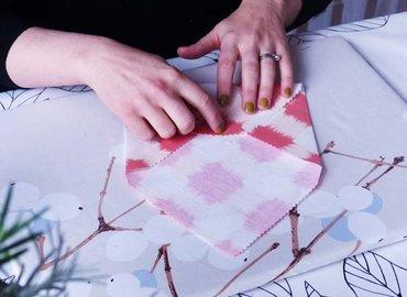Create A Set of Gorgeous Fabric Envelopes