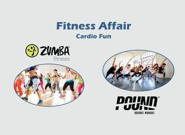 Fitness Affair : POUND + Zumba