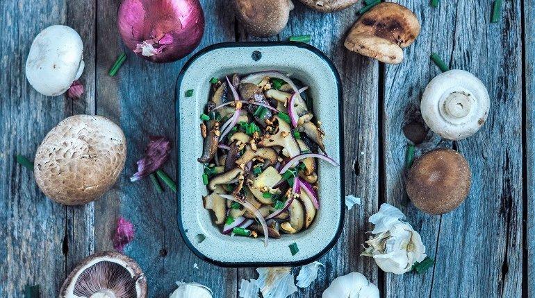 Gourmet Mushrooms - Growing & Cooking Edible Fungi