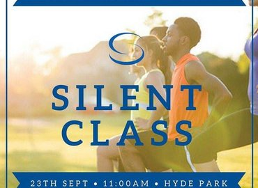Silent Swedish Fit® class in Hyde Park!