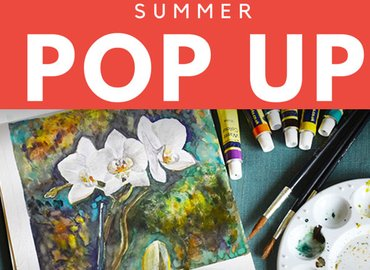 Summer Pop Up || Rooftop Botanical Drawing
