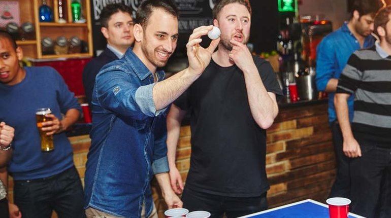 Secret Pub Crawl of Shoreditch Bars & Beer Pong