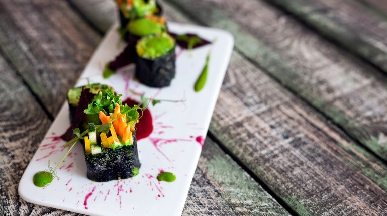 Superfood Vegan Sushi Workshop