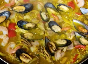 Paella & Tapas While Learning Spanish-Central London