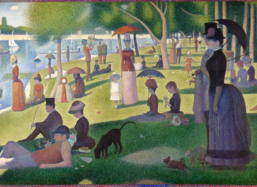 Paint like Seurat + French Antipasti & Wine!