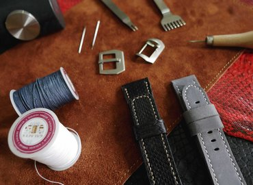 Leather Watch Strap Workshop