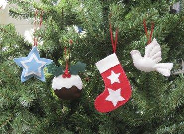 Kids Workshop -Hand Sew Christmas Ornaments