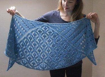 Knit a Chunky Lace Shawl