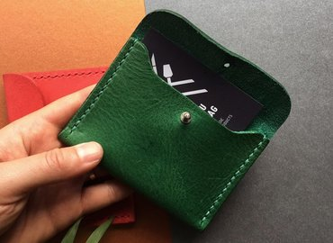 Make Your Own Leather Cardholder Xmas Special!
