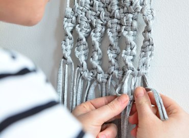 Create a Macramé Wall Hanging