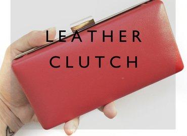 Create a Gorgeous Leather Clutch Bag