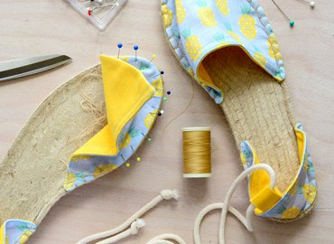 Learn to Make your Own Summer Espadrilles