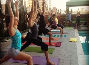 Yoga Al Fresco| Pool of Champions - SUNTEC CITY