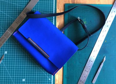 Create your own Leather Handbag - A Xmas Gift
