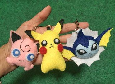 Pokemon Keychain Workshop