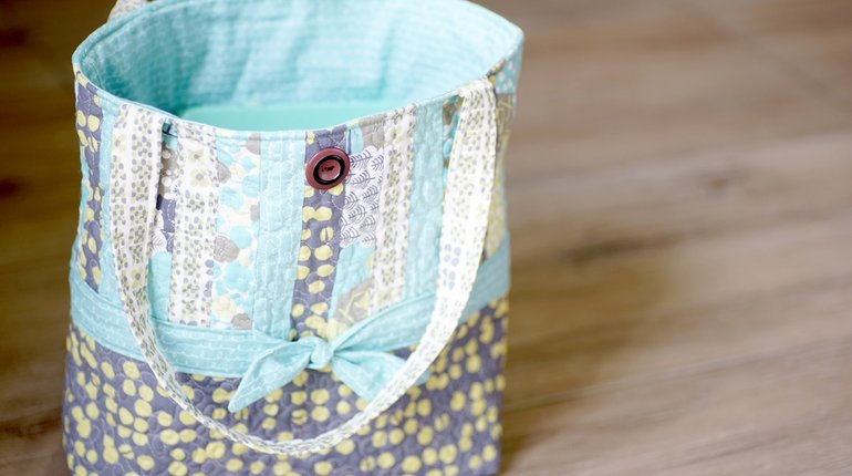 Sew Your Own Quilted Tote Bag