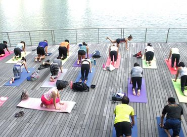 POP UP YOGA x International Yoga Day (FREE)