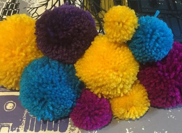 Learn to Use Pom Poms as Decorations