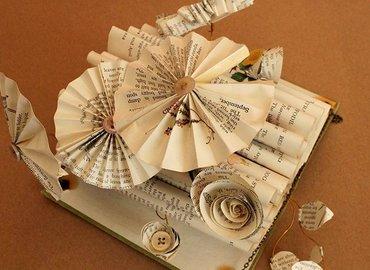 Make Your Own Unique Book Sculptures