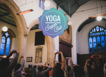 Yoga Supper Club in Stoke Newington