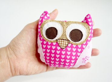 Learn How to Sew a Cute Owlet (Parent + Child)