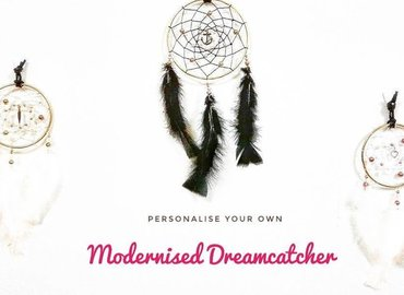 Weave Your Own Modernised Dreamcatcher