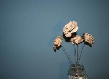 Learn to Make Beautiful Paper Roses