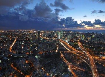 תצפית אסטרונומית על גג המגדל הגבוה ביותר בארץ!