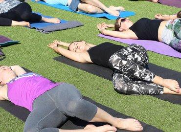 Alfresco Yoga Brunch by Regent's Canal
