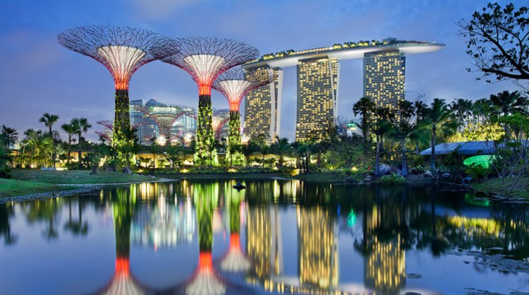 Pop up yoga gardens by the bay funzing - Garden by the bay flower show ...
