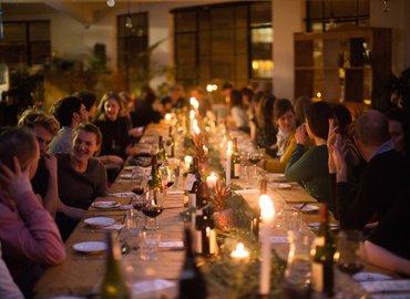 KinoVino Greek Themed Cinema-Supper Club