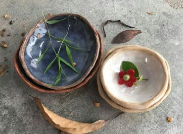 Make Your Very Own Handcrafted Clay Bowls