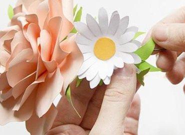 Get Crafty with Botanical Paper Art - Blossom