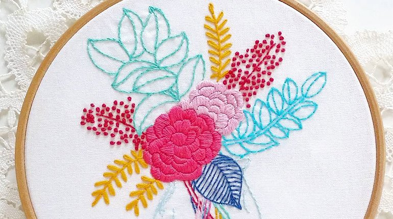 Embroidery for beginners funzing