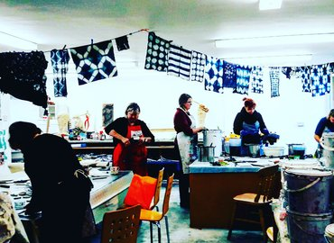 Make Your Own Scarf: Shibori with Natural Dyes