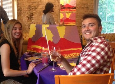 PopUp Painting at Gorilla, Manchester!