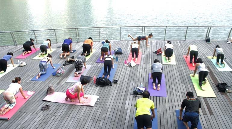 POP UP YOGA x Fundraiser For Child Education