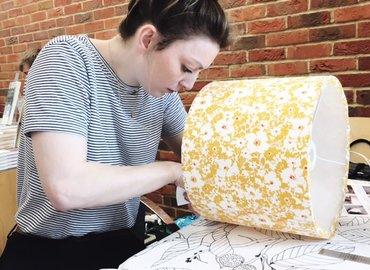 Make Your Own Stylish Lampshade