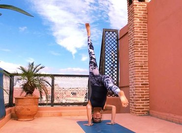 Headstands on the Rooftop!