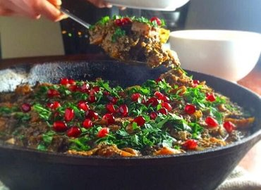 Magical Persian Vegan Dinner (Cooking Class)