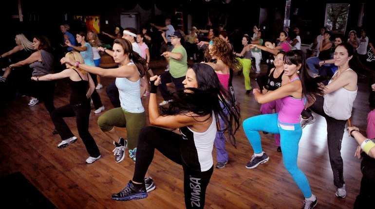 1-hour of Exhilarating Zumba Fitness Class