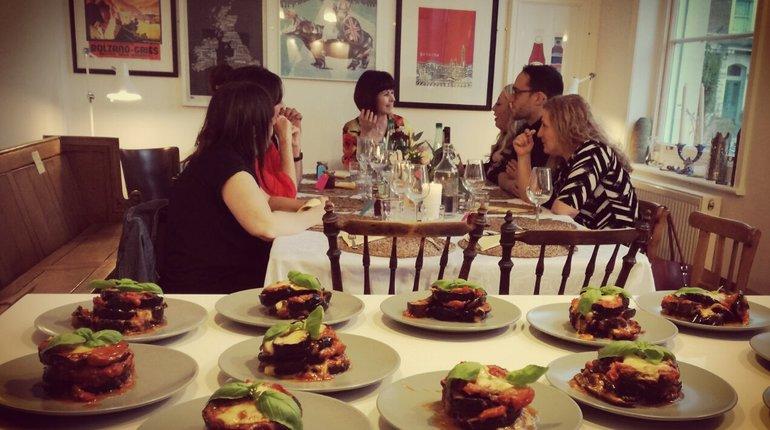 Sabrina's Four Course Vegetarian Italian Feast