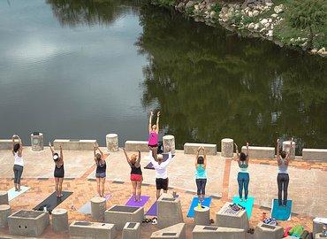 Yoga Al Fresco| River of Life - LAVENDER
