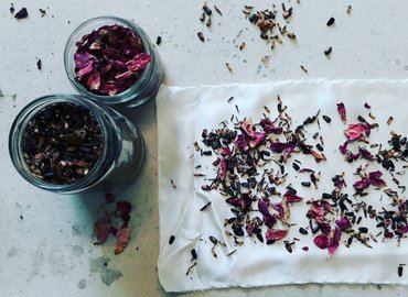 Learn Natural Dying Processes Using Plants