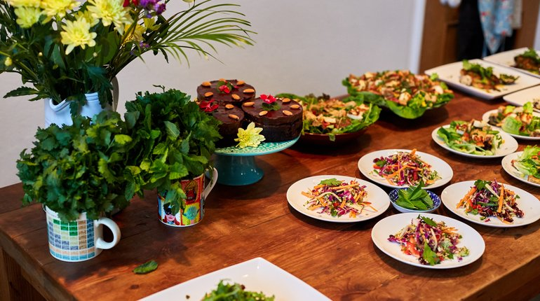 Fertility Boosting Dinner with Former Ottolenghi Chef